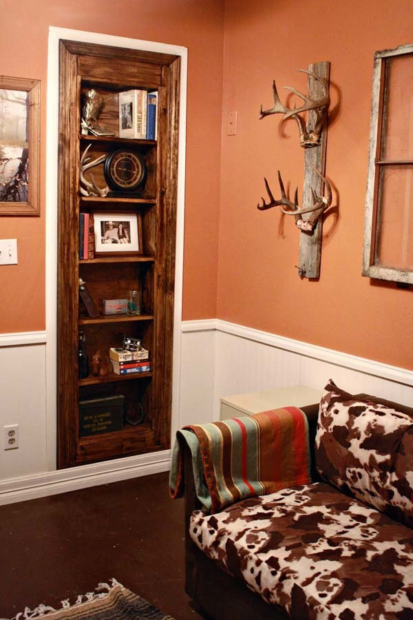 Build Your Own Bookshelf Doorway   Like A Secret Passage Behind A Door!