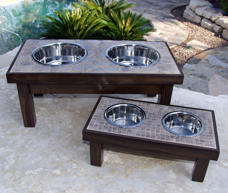 Fantastic DIY Pallet Dog Bowl Stand Plans  Pallet Wood Projects