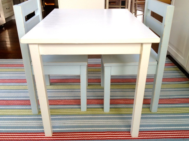 Ana White Kids Table Amp Chairs Diy Projects