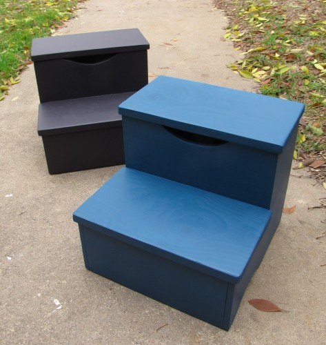 storage step stools