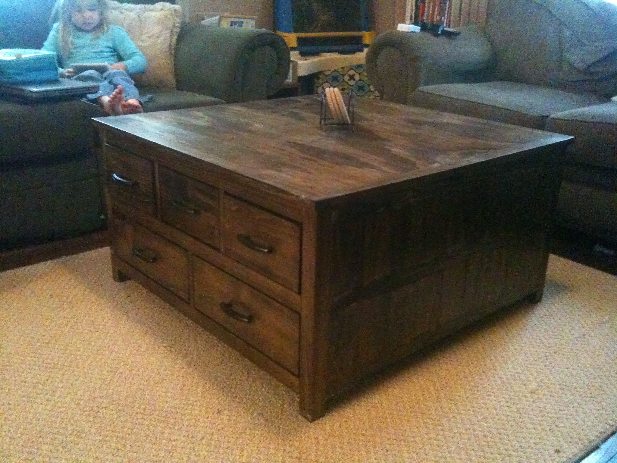 coffee design end regard solid to wood table with storage awesome tables