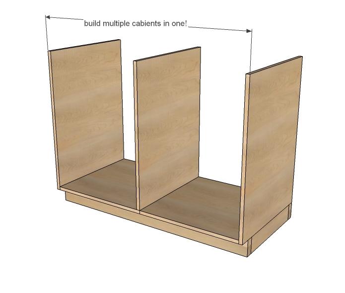 Kitchen Base Cabinets 101 Ana White, Building Kitchen Cabinets Pdf
