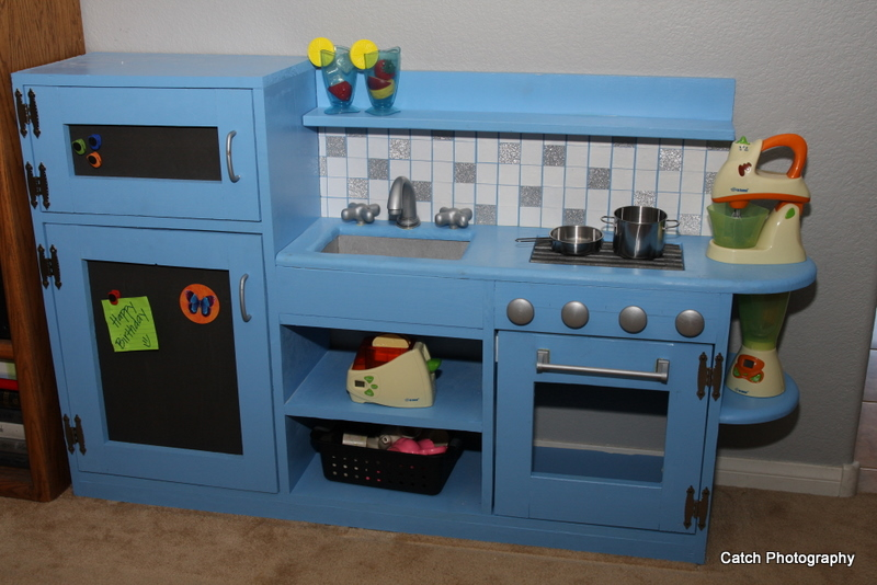 Ana White One Piece Play Kitchen Diy Projects