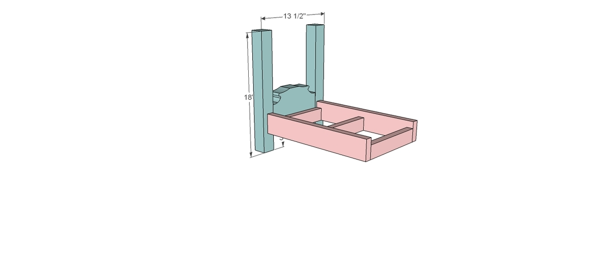 Free Doll Bed Plans http://ana-white.com/2012/01/plans/canopy-doll-bed ...