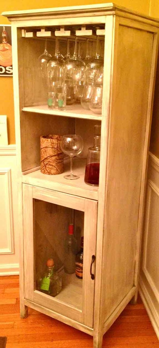 Liquor Cabinet From Benchmark Storage/Media Unit