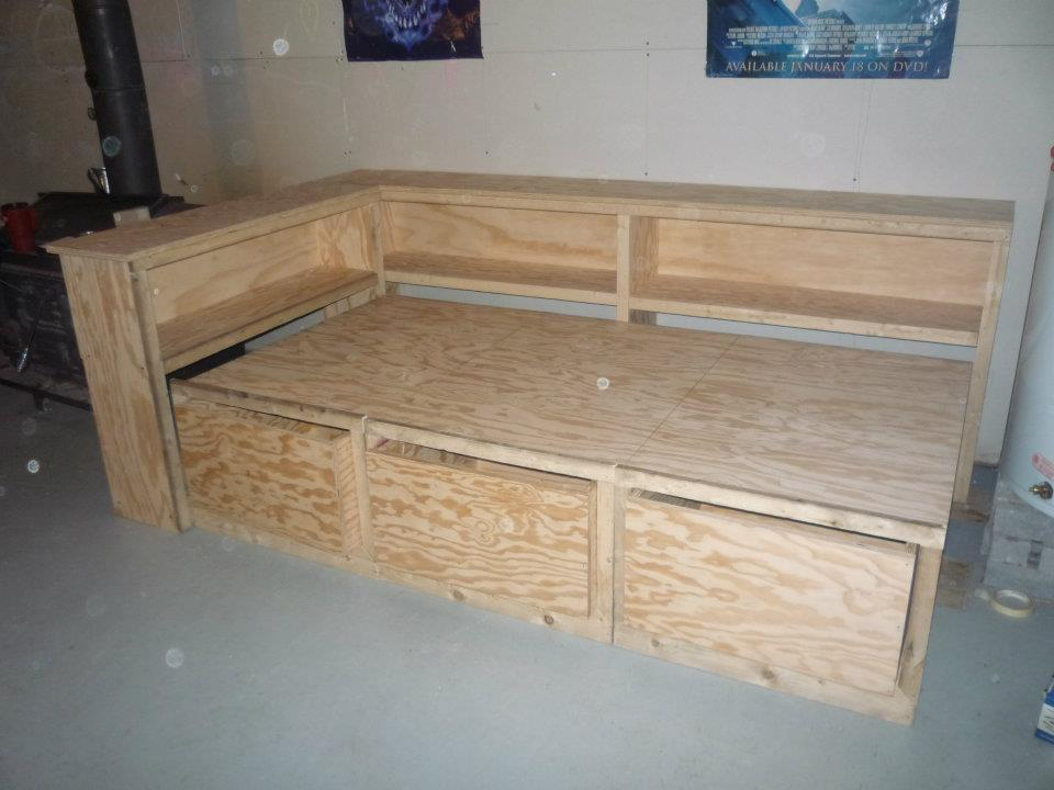 Plans For Building A Trundle Bed - House Design And ...