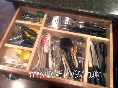My DIY Kitchen Drawer Organizer