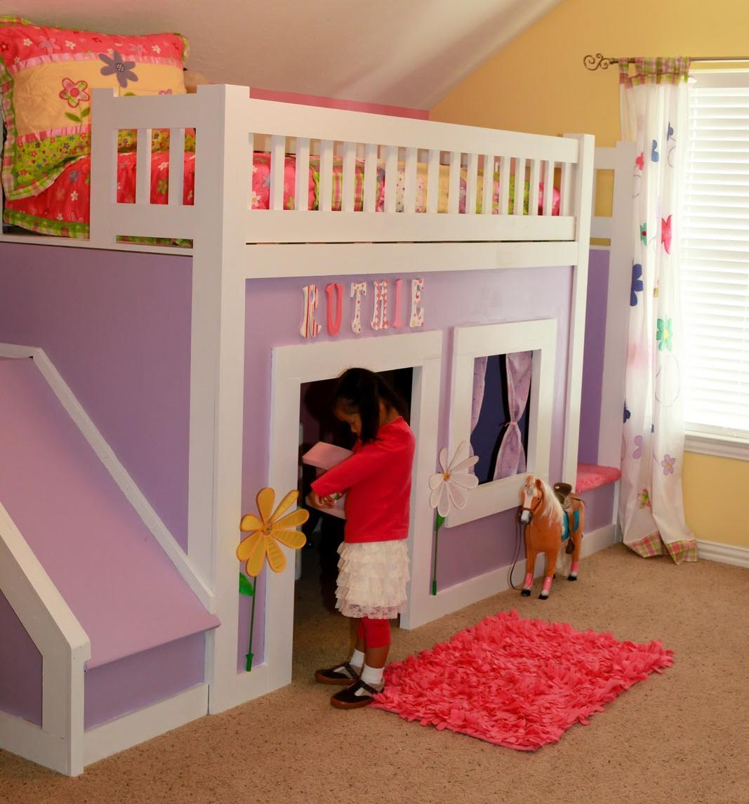Play Bunk Beds For Large Families From Woodland likewise Treetop Castle Tree House besides Princess Bed Stairs And Slide in addition La Cabane De Jardin Pour Enfant Est Une Idee Superbe Pour Votre Jardin besides 924464. on princess cottage playhouse plans