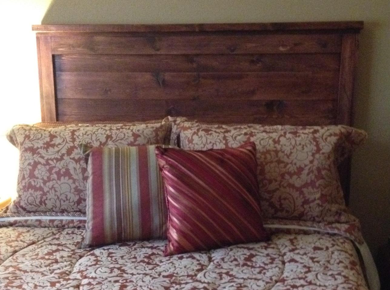 reclaimed wood queen headboard ana white woodworking. Black Bedroom Furniture Sets. Home Design Ideas