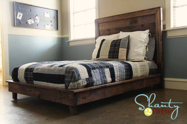 Well If Yesterday S Beams Of Light Are My Fav 2x4 Project Whitney From Shanty2chic Platform Bed For Her Son Room Has Got To Be One Favorite 2x6