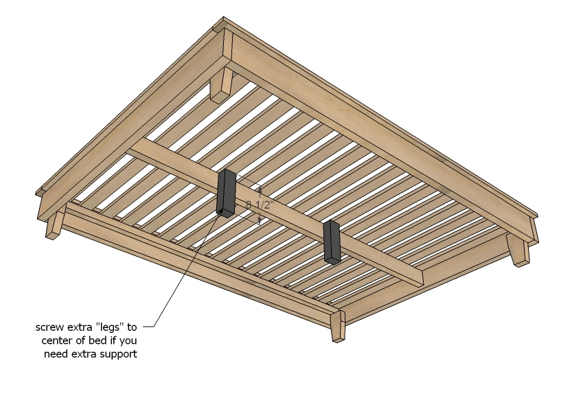 build platform bed frame instructions | Woodworking Project North ...