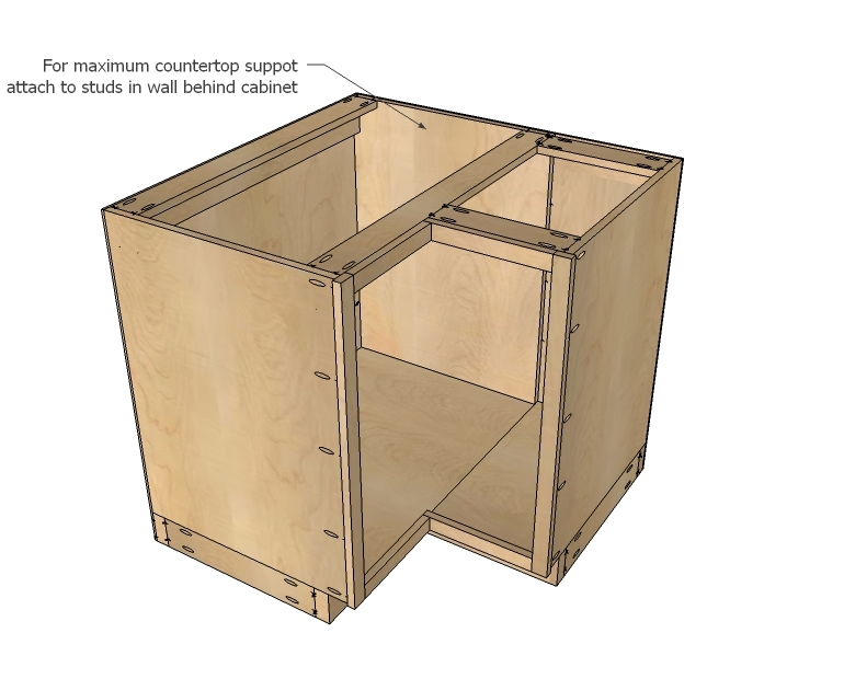 how to draw cabinet plans