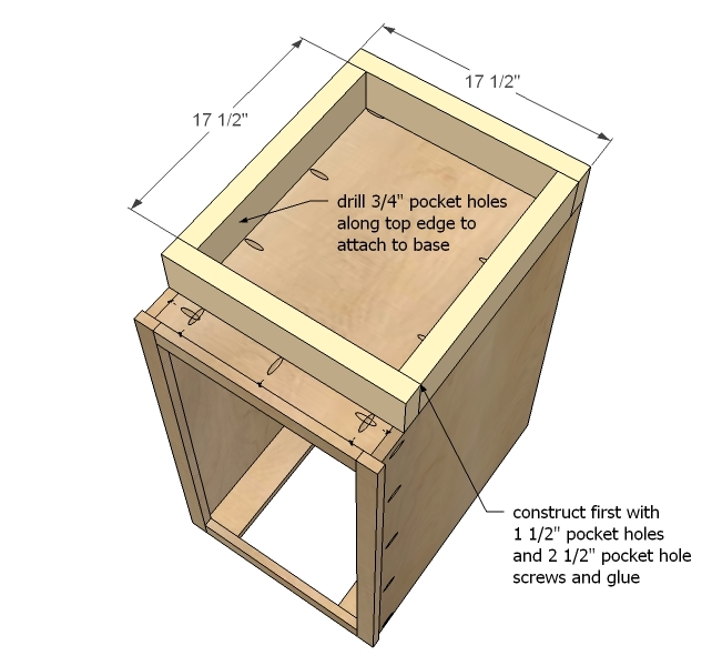 Pdf plans how to build a base cabinet download diy how to for Building kitchen cabinets