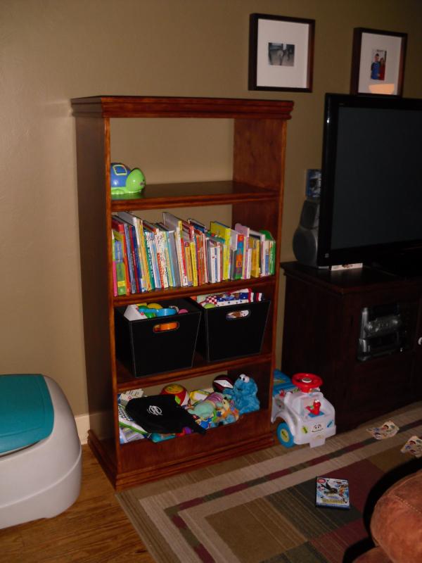 Full Toy Box Bookcase Ana White
