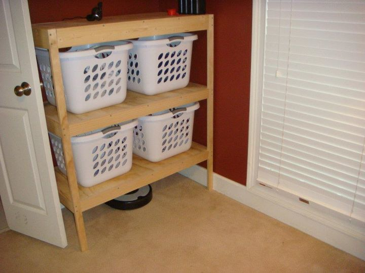 Ana white laundry station diy projects laundry station solutioingenieria Image collections