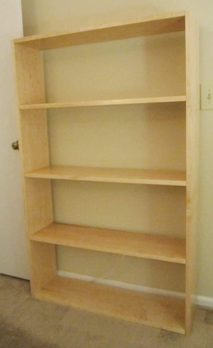 bookcase maple pieces furniture bookshelves zone n