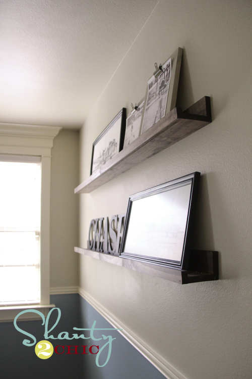 Ana White 10 Ledges Shelves Favorite Project Diy