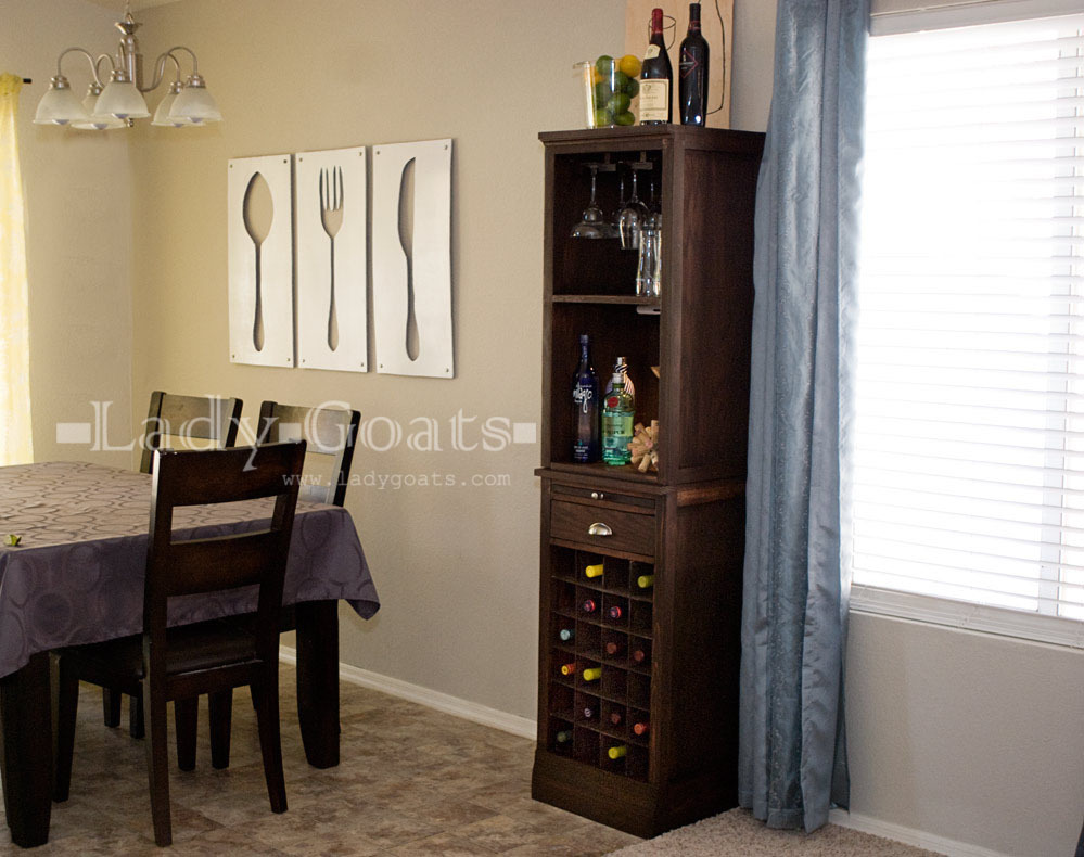 Mod Bar - Wine Grid Base - DIY Projects