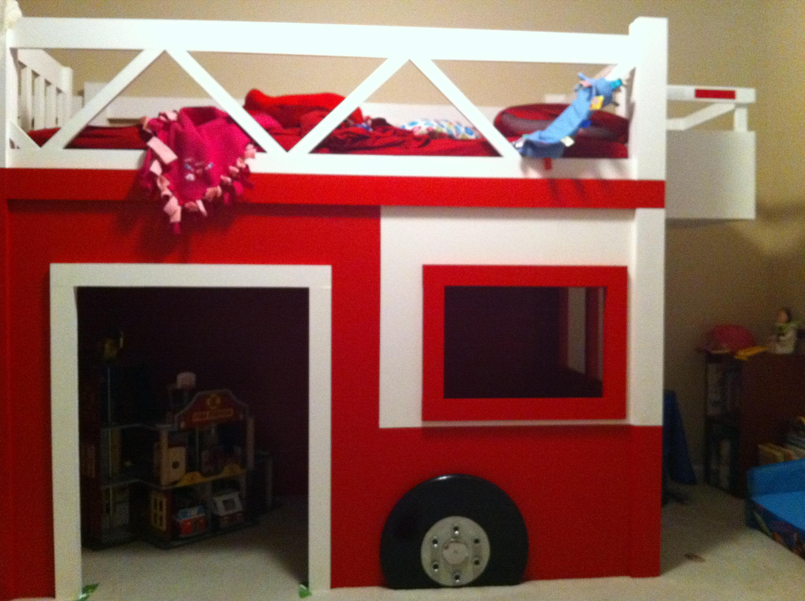 The handmade dress triple bunk bed plans memes - Fire engine bed plans ...