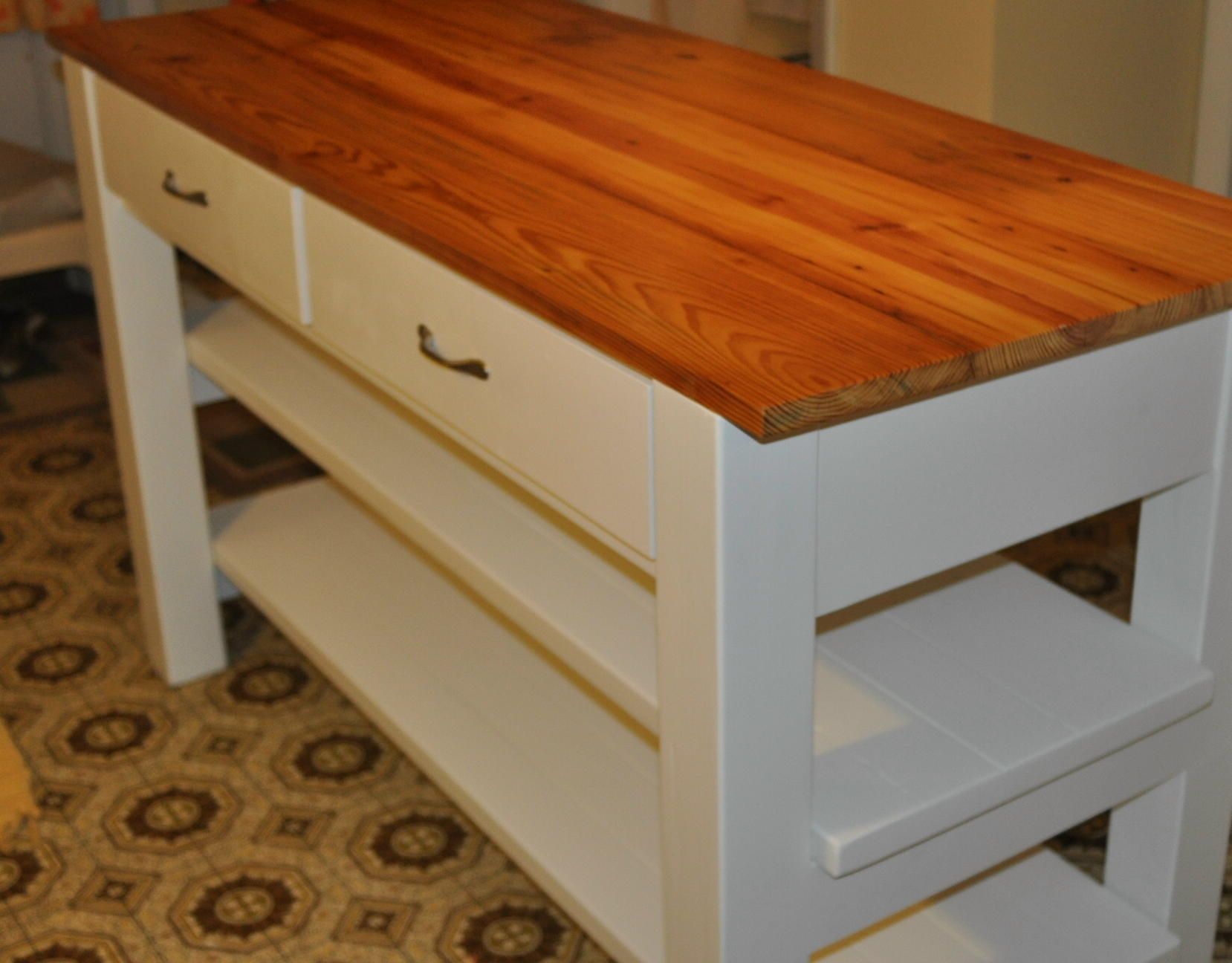 Ana White Modified Michaela S Kitchen Island Diy Projects