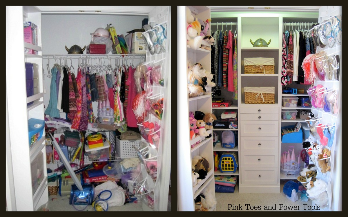 Ana white closet organizer diy projects Pictures of closet organizers
