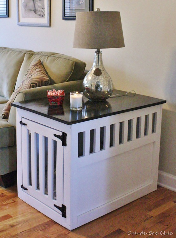 Ana White Dog Kennel Coffee Table DIY Projects