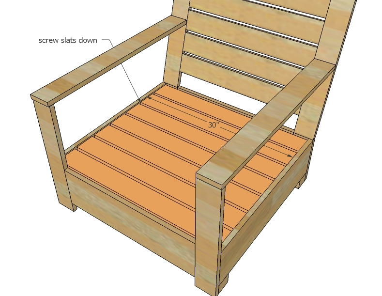 Wood Lounge Chair Plans ~ Outdoor lounge chair plans woodworking edge