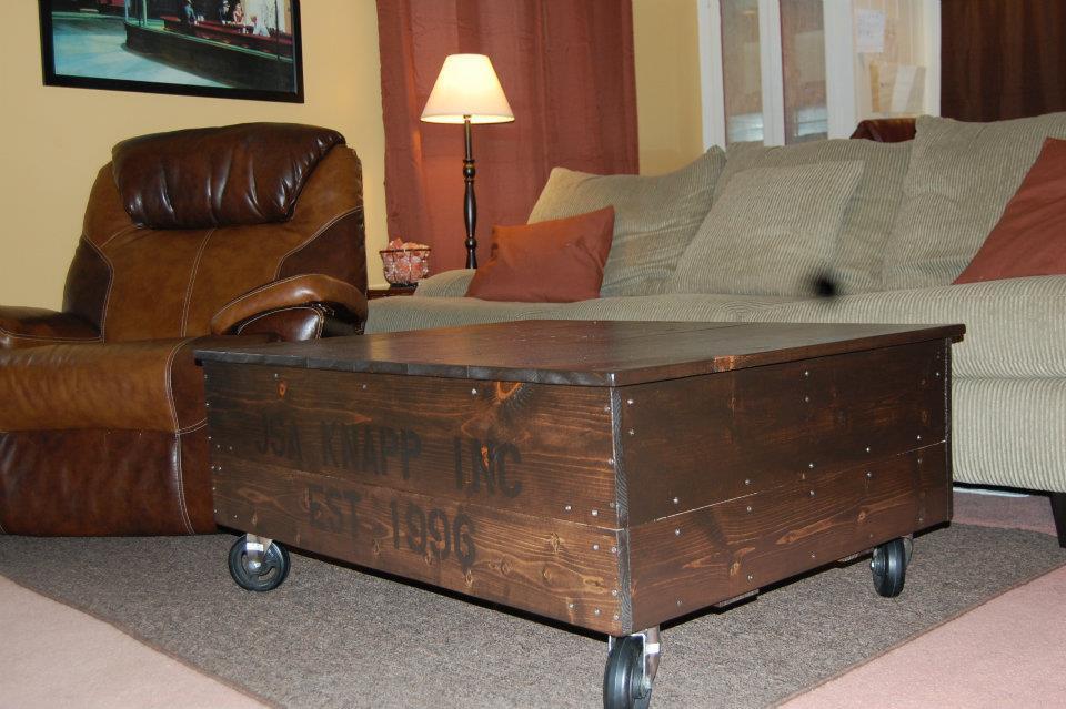 Ana White Coffee Table Cart
