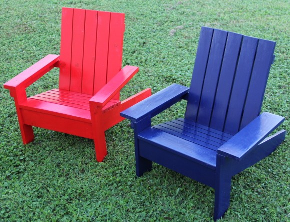 Ana White Child Adirondack Chairs Diy Projects