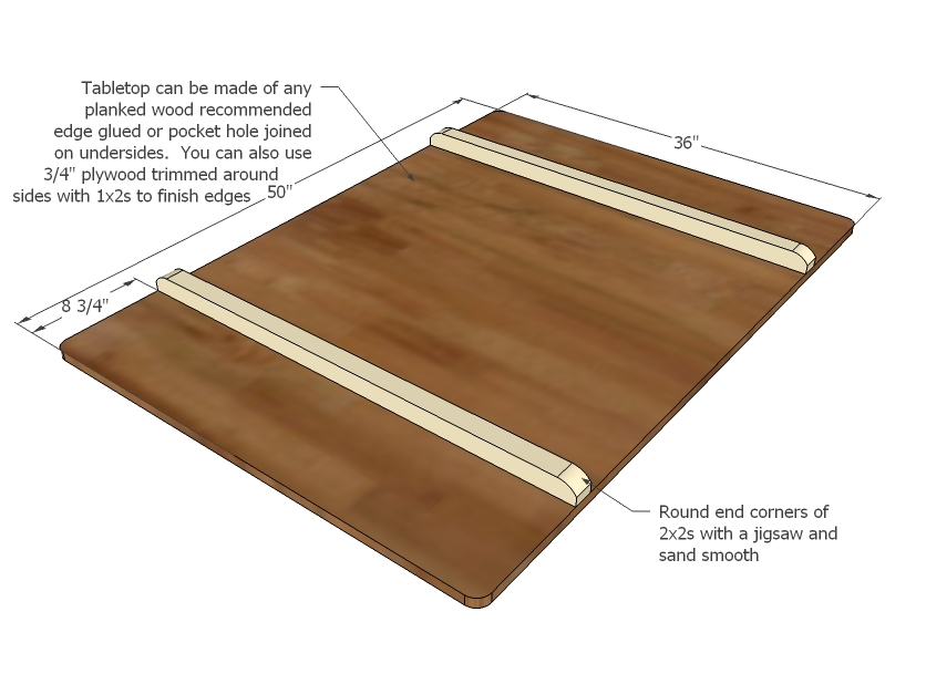 Step 6 Instructions: You Can Make Your Tabletop ...