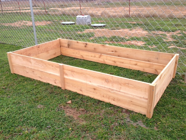 Ana White Cedar Garden Bed DIY Projects
