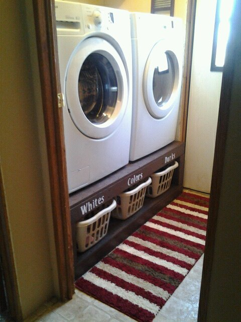 Ana White Sausha S Washer And Dryer Pedestal Diy Projects