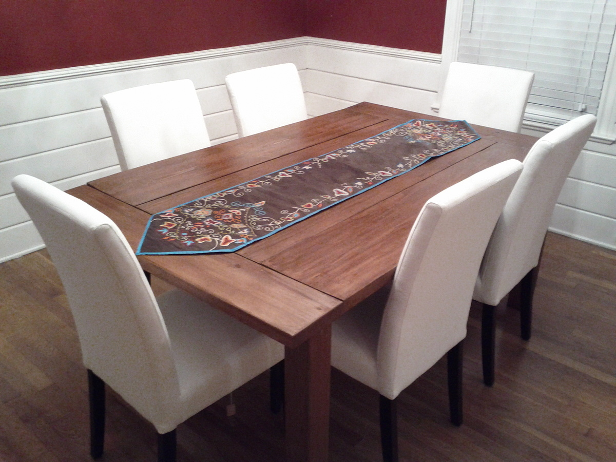 diy farmhouse dining table plans - Build Dining Room Table