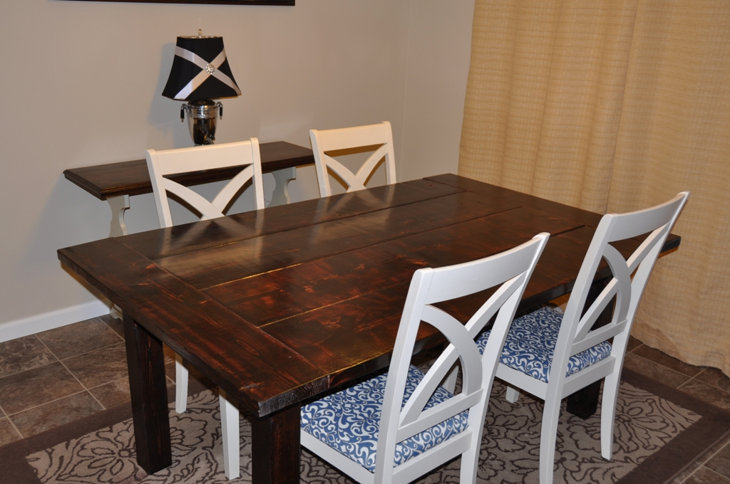 Farm House Dining Room Table Do It Yourself Home Projects From Ana