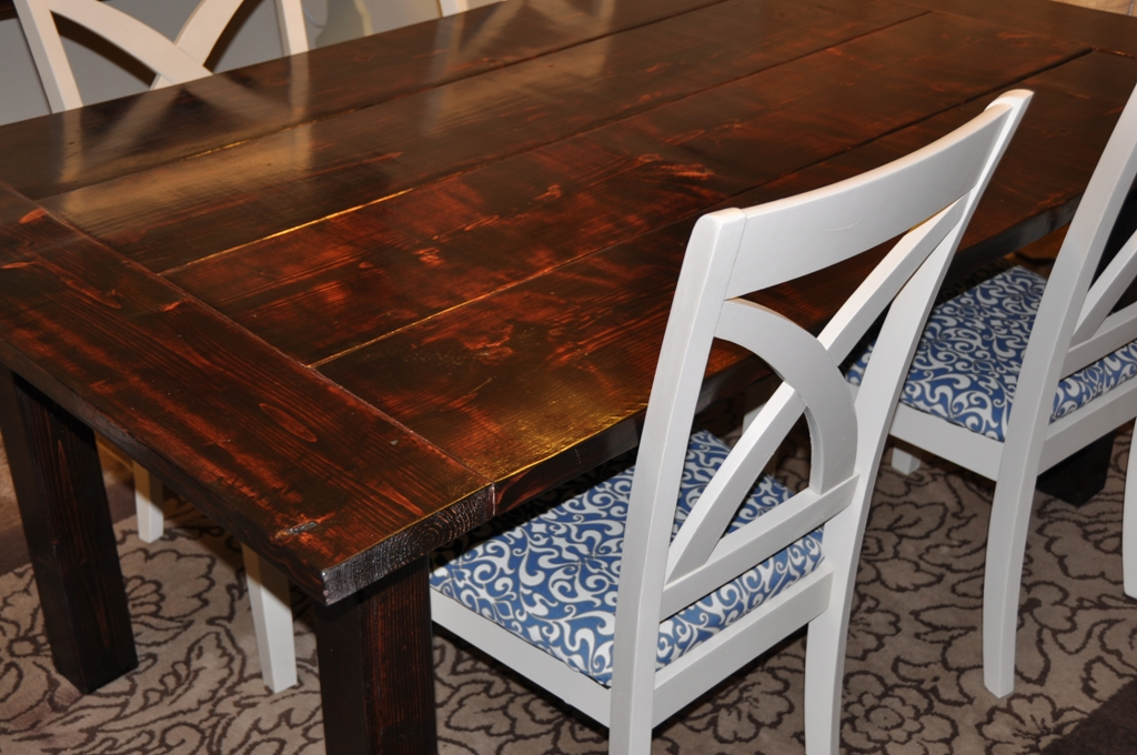 farm house dining room table - Build Dining Room Table