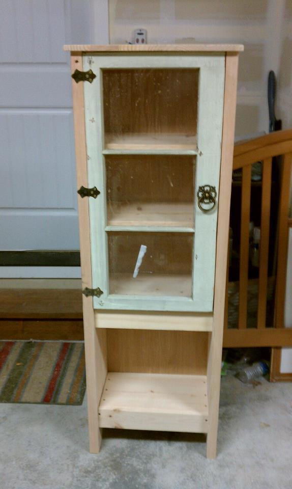 Ana White Display Case With 1920 S Window For The Door