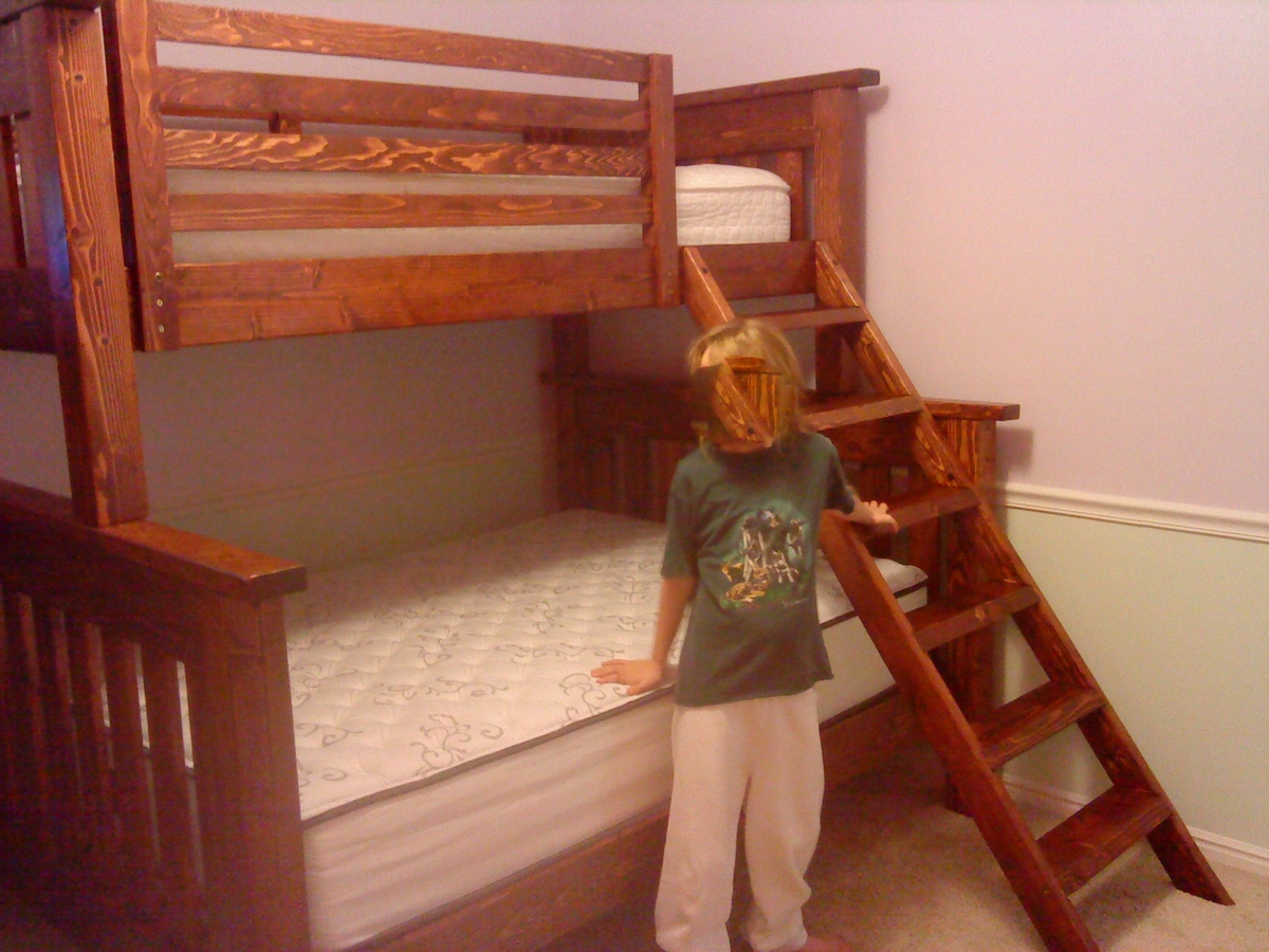 Simple Twin Over Twin Bunk Bed Plans