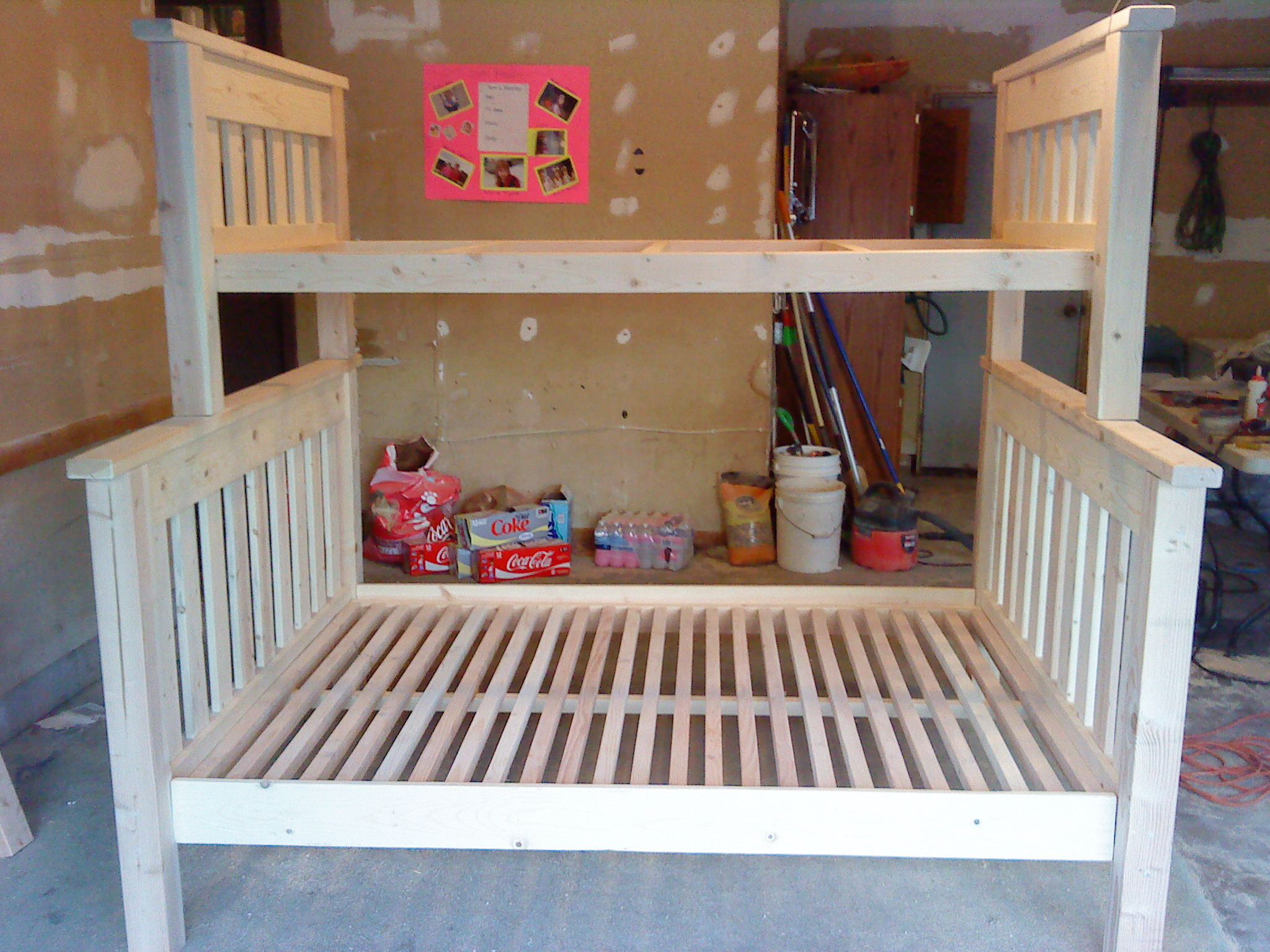Ana White Twin Over Full Bunkbed Diy Projects