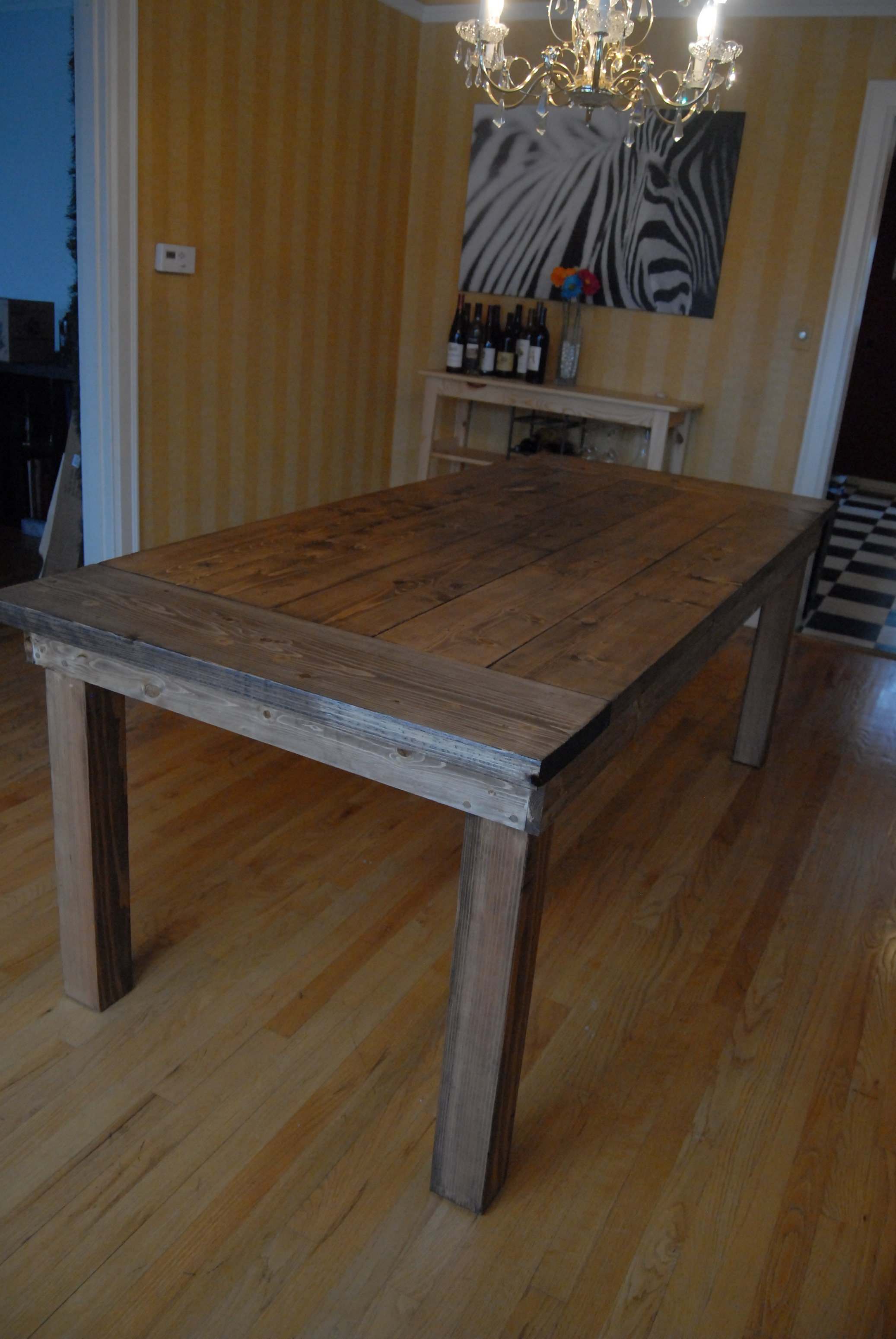 Ana White Farmhouse Table Diy Projects