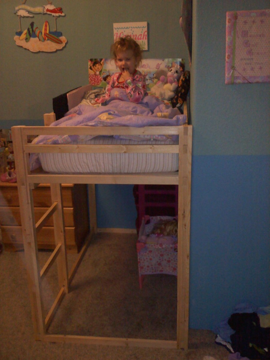 Toddler Size Loft Bed