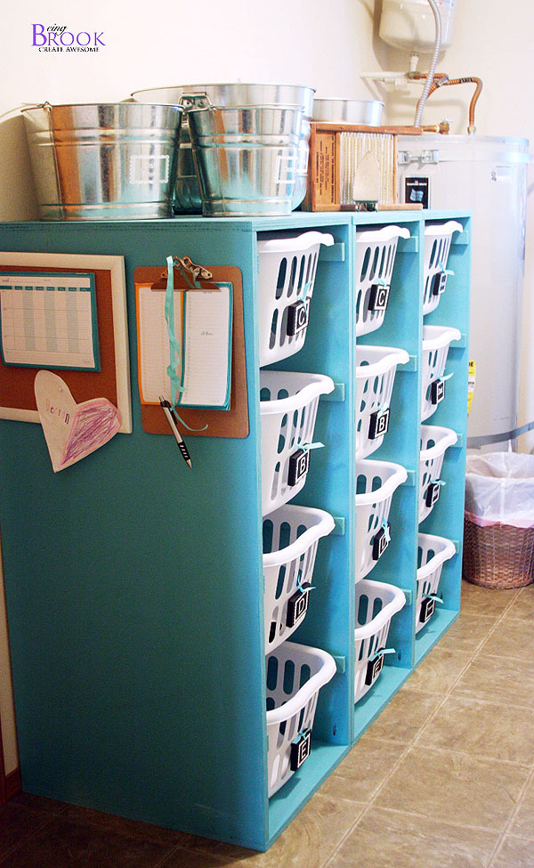 Ana White Brook Laundry Basket Dresser 4 Tall And Lengthwise Diy Projects