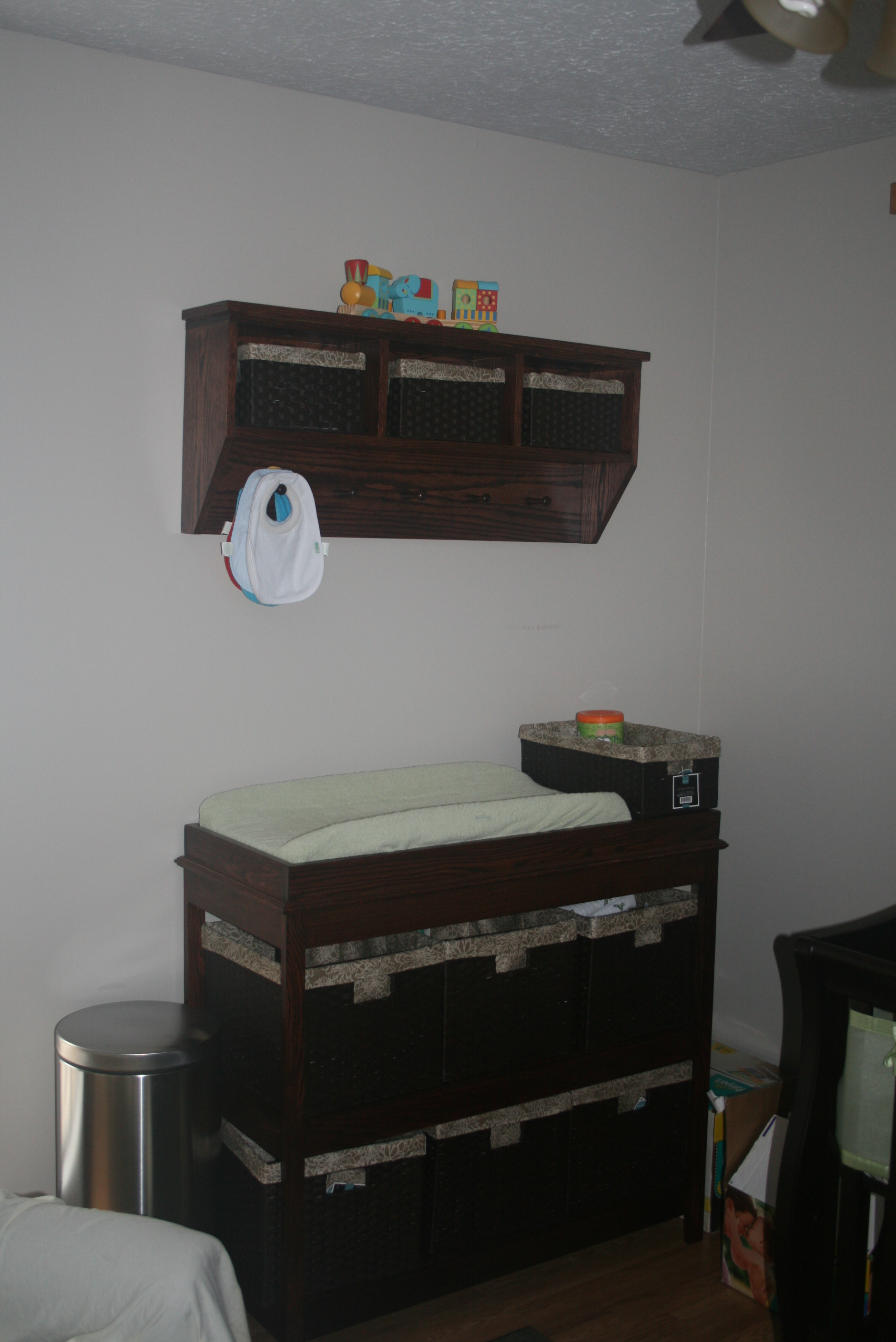 Incredible Changing Table Storage Shelf Combo Ana White Download Free Architecture Designs Embacsunscenecom
