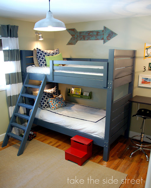 Luxury Side Street Bunk Beds How to build