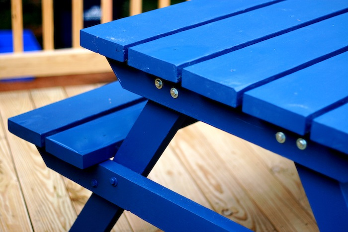 Picnic Table | Do It Yourself Home Projects from Ana White