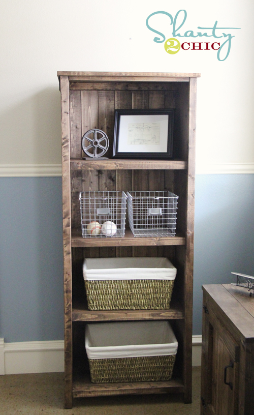 HANDMADE FROM THIS PLAN >> - Ana White Kentwood Bookshelf - DIY Projects