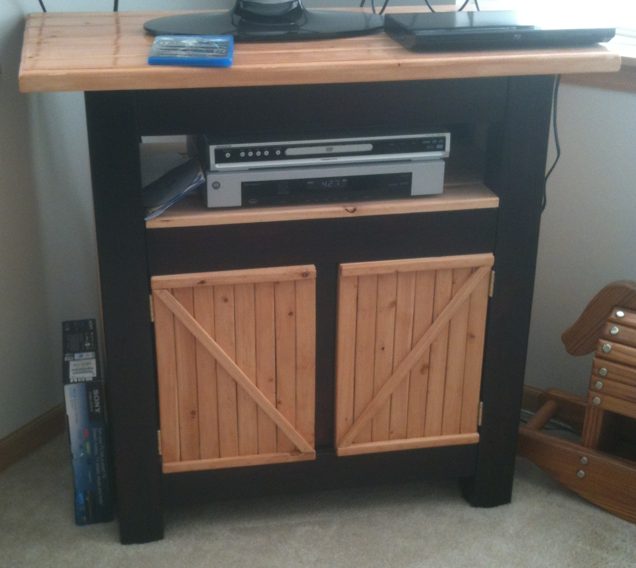 Tv Stand From The Palns Of Http Ana White Com 2011 03