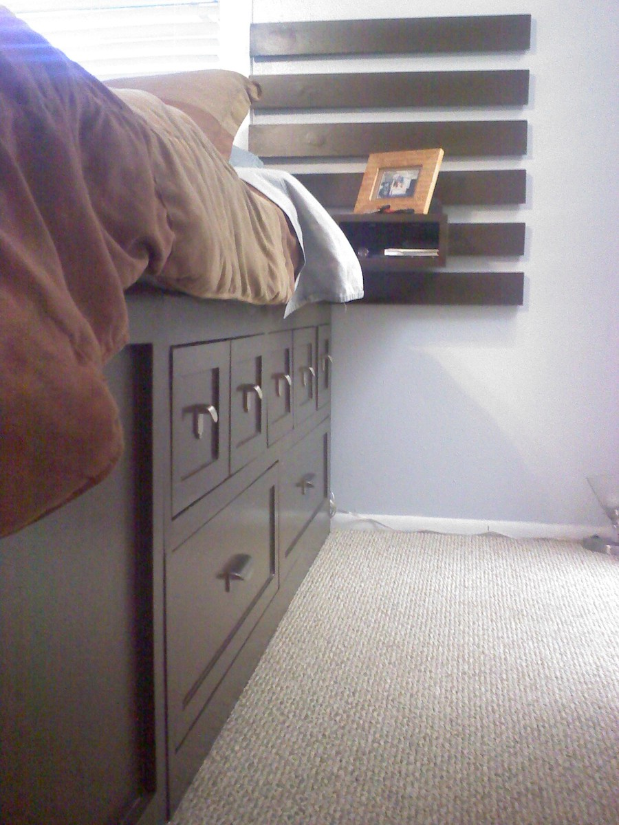 Ana White King Size Storage Bed Highly Modified Diy