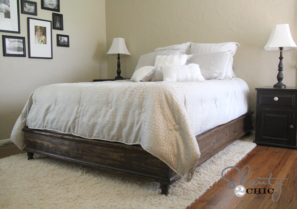chestwick platform bed queen size