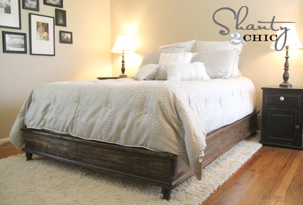 Ana White | Chestwick Platform Bed - Queen Size - DIY Projects