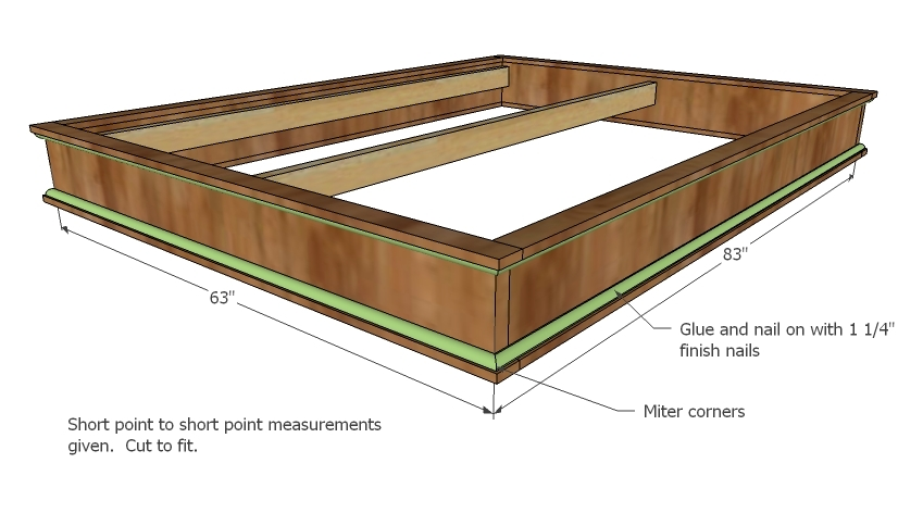 Platform Bed Plans | Casual Cottage